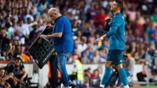 Cristiano Ronaldo Could be Banned For Atleast Four Games After Pushing Referee