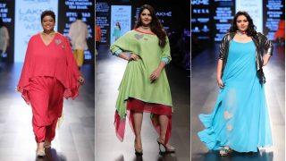 Dhai Kilo Prem Actress Anjali Anand Walks the Ramp for Wendell Rodricks