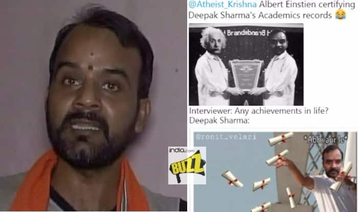 deepak sharma memes man who made 'film' against maymays is now a meme! internet protests