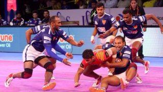 प्रो कबड्डी लीग 2017: रोमांचक मैच में दिल्ली ने थलाइवाज को हराया