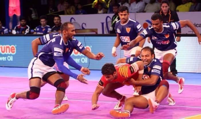 U Mumba 32-18 Dabang Delhi in second half