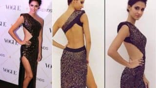 Disha Patani Sizzles in Thigh High Slit Backless Gown! See Pictures of Hot Indian Actress From Vogue Beauty Awards