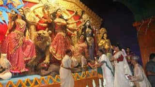 Durga Idol Immersion Will be Halted For 24 Hours Due to Muharram, Says Mamata Banerjee