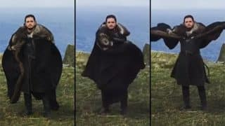 Jon Snow's Video Of Pretending To Be A Dragon Shared By Khaleesi On Instagram Is Winning The Internet