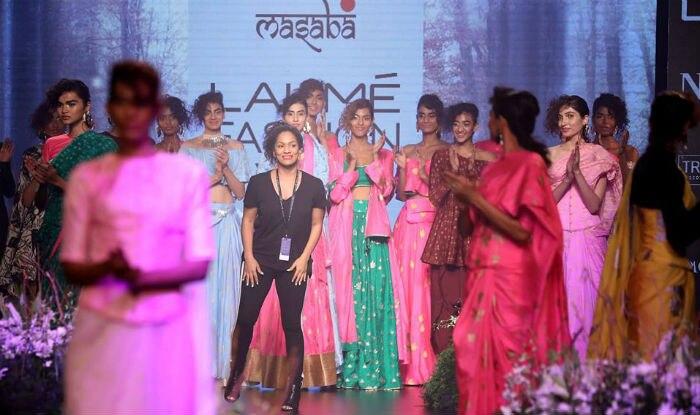 Lakme Fashion Week 2017 House Of Masaba Collection Has The Perfect Vibrancy Of Masaba Gupta S Fashion Sensibilities India Com