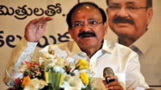 Venkaiah Naidu's Slippers Stolen From Bengaluru MP's Residence, Gets a New Pair From Bata