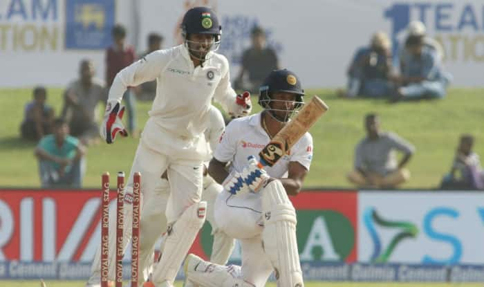 Sri Lanka totter under India's run mountain in Colombo
