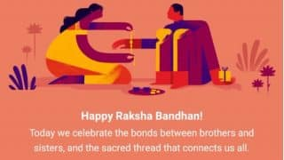 Raksha Bandhan 2017 Date In India : Latest News, Videos and