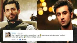 पाकिस्तानी लड़की ने कहा- फवाद खान बेकार, विराट कोहली की फैन हूं