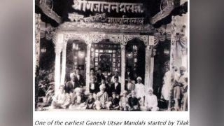 Ganesh Utsav Pandals Started By 'Lokmanya' Bal Gangadhar Tilak Turns 125 years: This Throwback Pic Is A Gem
