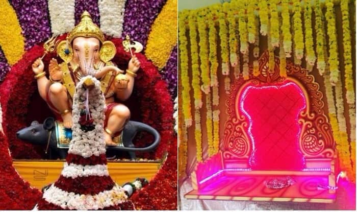 Ganesh Chaturthi Decoration Ideas Innovative Eco Friendly Designs For Decorating Homes This Ganpati Festival India Com