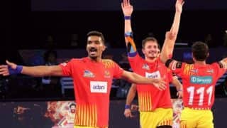Gujarat Fortune Giants beat Puneri Paltan in Pro Kabaddi League 6