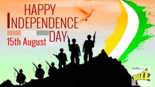 Independence Day Wishes in Hindi: Best Happy Independence Day Messages, WhatsApp GIFs, Facebook Images & Greetings to Celebrate 71st Independence Day