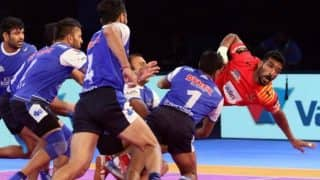 Haryana Steelers vs Jaipur Pink Panthers PKL 5: Haryana Beat Jaipur 30-26