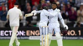 Shai Hope Scores Century as Windies Chase Down 322 to Win 2nd Test Against England