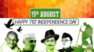 Independence Day 2017 Wishes: Best Happy Independence Day Messages, WhatsApp GIFs, Facebook Status & Greetings for 15th August
