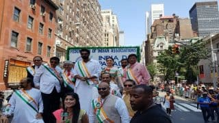Baahubali Actors Rana Daggubati, Tamannaah Bhatia Join Thousands at India Day Parade in New York