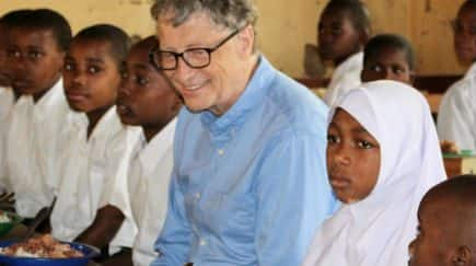 Bill Gates Makes Debut on Instagram With Heartwarming Travel Pic From Tanzania