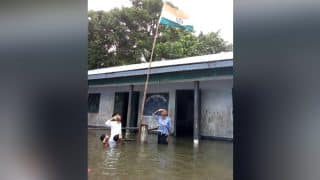 This Assam School Hoisted The National Flag On Independence Day in Flood Waters, Facebook Pic Goes Viral