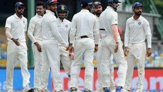 India vs Sri Lanka 3rd Test Day 2 Highlights: Mathews Fifty Takes Visitors Forward