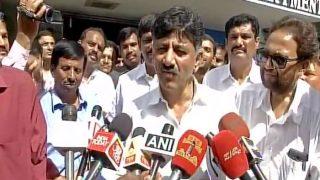 कर्नाटक के मंत्री शिवकुमार से आयकर विभाग के अधिकारियों ने की पूछताछ