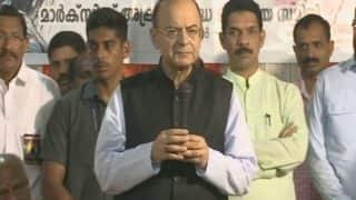 Violence Unleashed by CPM in Kerala Would Even Put Terrorists to Shame: Arun Jaitley on RSS Worker's Murder