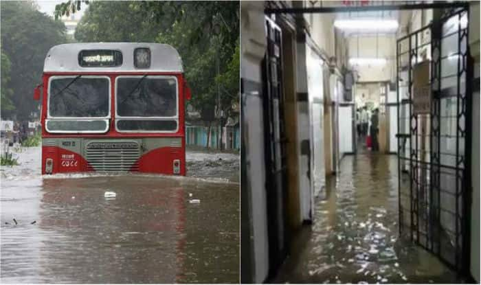Rain floods Mumbai's largest municipal hospital, patients moved to higher floors