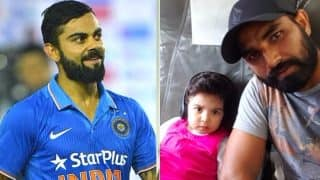 Watch Mohammed Shami's Daughter Aairah Dancing With Virat Kohli