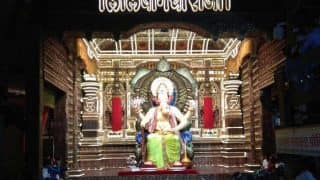 Lalbaugcha Raja 2017 First Images: Mumbai's Favourite Ganpati Idol's Pictures Revealed Before Ganesh Chaturthi