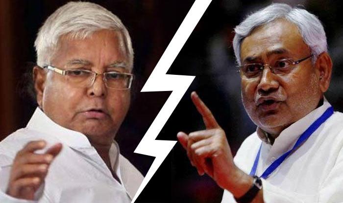 The alliance between Nitish Kumar and Lalu Yadav broke recently.