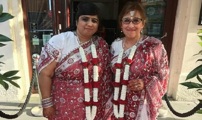 Lesbian Hindu, Jewish women Wednesday  in Britain