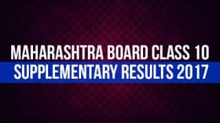 Maharashtra Board Class 10 Supplementary Results 2017 Expected by August 31 at mahresult.nic.in