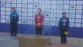 Maheshwari Chauhan Wins India's First Ever Medal in Women's Skeet at Asian Shotgun Championship, Clinches Bronze