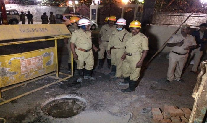 Three sanitation workers die of asphyxiation
