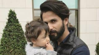 Misha Looks Exactly Like A Doll In Her Pre-Birthday Picture With Shahid Kapoor!