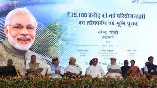मोदी पहुंचे उदयपुर, राजस्थान को दी 15,100 करोड़ रुपए की सौगात