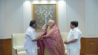PM Modi Congratulates O Panneerselvam On AIADMK Merger