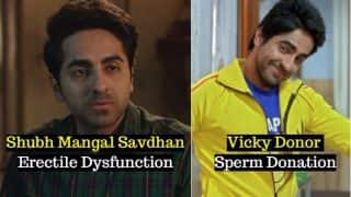 Shubh Mangal Savdhan-Erectile Dysfunction, Toilet: Ek Prem Katha-Open Defecation & Other Bollywood Movies That Took on Social Issues Nobody Talks About