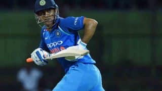 Mahendra Singh Dhoni Breaks World Record For Most Not-Out Knocks in ODIs
