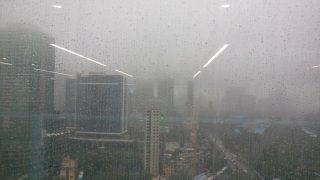 Mumbai Witnesses Heavy Overnight Rains With Thunderstorm, Lightening; Some Trains Running Late