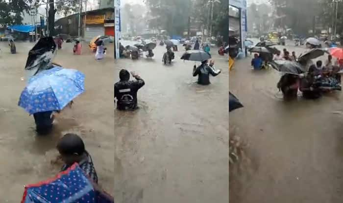 Mumbai news shows horrific aftermath of the downpour on the City