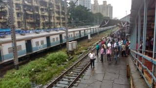 Mumbai Rains News: Rescue Operation Underway Near Andheri Railway Station; Local Train Services Hit