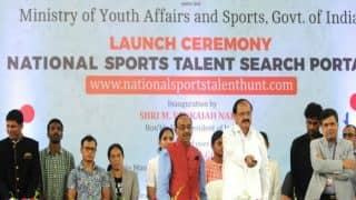 National Sports Talent Search Portal Launched by Vice President Venkaiah Naidu