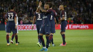 Brazilian Star Neymar Returns as Paris Saint-Germain Thrash Monaco in China