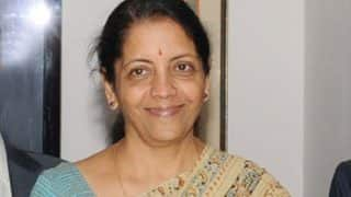 Two women assuming important security roles itself a strong message: Nirmala Sitharaman