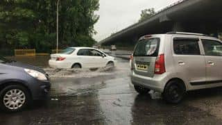 Noida: Heavy Rains Cause Water Logging; Vehicular Movement Paralysed