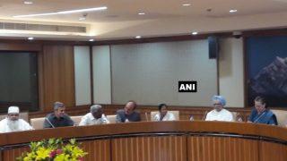 सोनिया की अगुवाई में 18 विपक्षी दलों की बैठक, JDU नेता भी हुए शामिल, एनसीपी नाराज