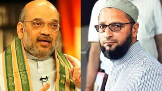 Asaduddin Owaisi Targets Amit Shah in Controversial Remark, Says 'BJP Wants Muslim-mukt Bharat'
