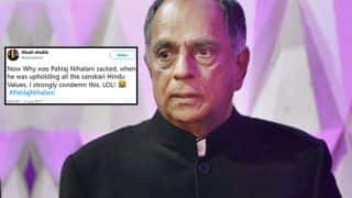Pahlaj Nihalani Replaced By Prasoon Joshi As Censor Board Chief; Twitterati Hilariously Bids Him Sanskaari Farewell