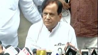 BJP Intimidating Congress Legislators Ahead of RS Polls, Alleges Ahmed Patel